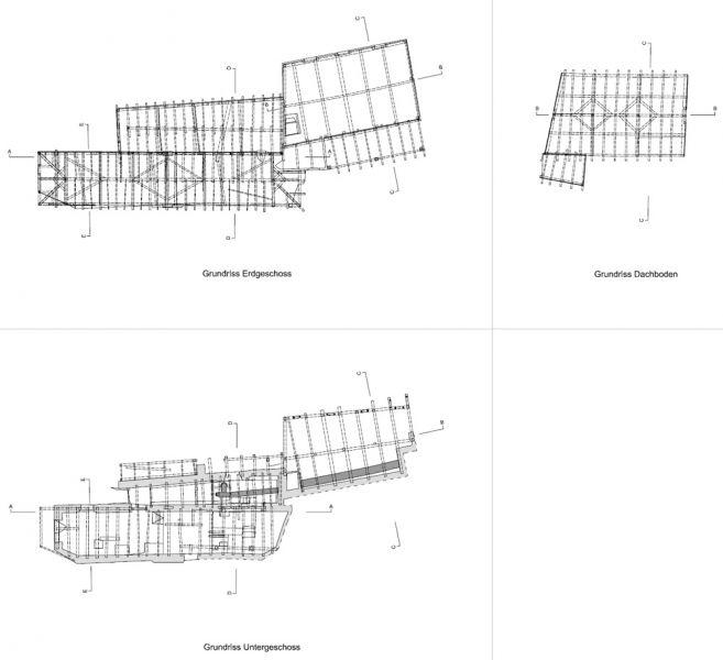 Architekturvermessung fassaden efh in duggingen bl 2011
